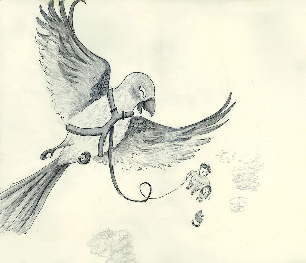 Sketchbook: Ivan Can Fly