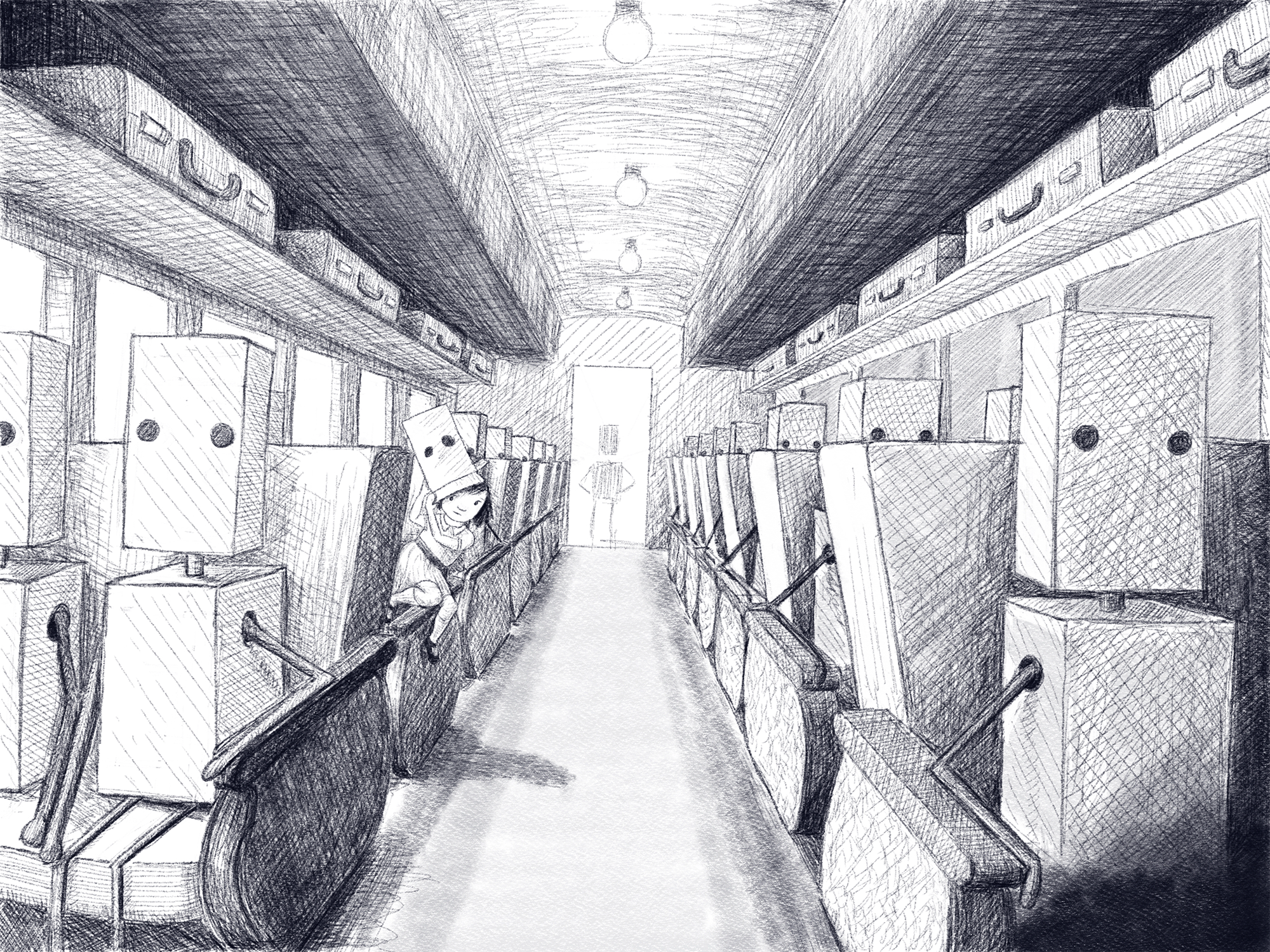 In Progress: Girl on the Train